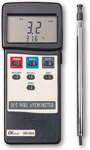 Lutron AM 4204 RS232 - Anemometer