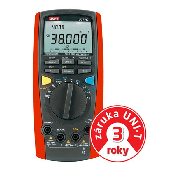 UNI-T UT71C - Multimeter