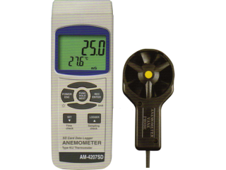 Lutron AM 4207SD - Anemometer